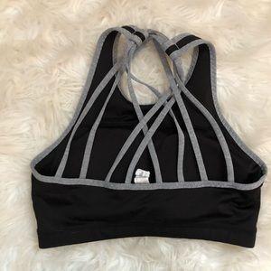 Saucony Intimates & Sleepwear - Saucony High Neck Black Sports Bra